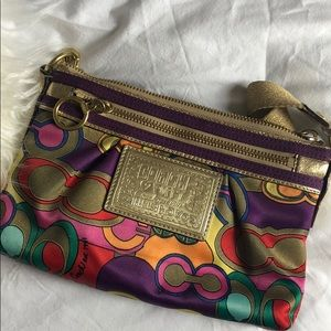 Coach poppy small bag multicolor